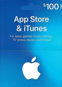 Apple 100 USD Gift code