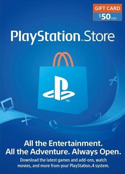 PlayStation $50 Gift Code